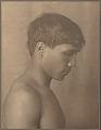 "View Portrait of ""Japanese-Hawaiian"" boy (profile) 1909 digital asset number 0"