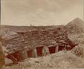 View View of Ancient Subterranean Stone Houses with Sculptured Door Posts digital asset: View of Ancient Subterranean Stone Houses with Sculptured Door Posts