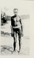 View New Guinea Man Wearing Ornaments Near Water 1891 digital asset number 1