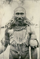 View New Guinea Man Wearing Ornaments and Holding Spear 1891 digital asset number 1