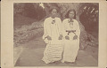 View Woman and Boy in Costume; Both Students at Missionary School n.d digital asset number 0