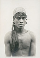 View Portrait of Young Man with Ear-Spools and Basketry Hat 1936 digital asset number 0