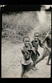 View Three Young Boys Wearing Breechcloths and Necklaces (Photo Taken from Train) 21 JAN 1925 digital asset number 0
