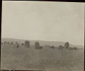 View View of Monoliths in Field with Mountains in Distance 01 NOV 1924 digital asset number 0