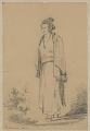 """View """"Japanese Woman"""" 1853 Drawing digital asset number 1"""