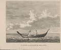 """View """"Canoe of Easter Island"""" 1798 Lithograph digital asset number 1"""
