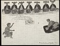 View Two Medicine Men Performing Dance to Determine Who Has Strongest Hypnotic (Tomaneous) Power Drawing digital asset: Two Medicine Men Performing Dance to Determine Who Has Strongest Hypnotic (Tomaneous) Power Drawing