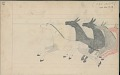 View Anonymous Cheyenne drawing of Indian with lance chasing horses digital asset: Anonymous Cheyenne drawing of Indian with lance chasing horses