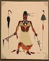 View Indian Dancer 31 JAN 1929 Painting digital asset number 1