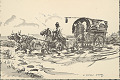 View Uruguayan Cart Drawn by Horses 1945 Photomechanical digital asset number 0