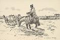 View Watering Horses in Uruguay 1945 Photomechanical digital asset number 1