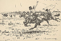 View Hunting with Bolas in Uruguay 1945 Photomechanical digital asset number 1