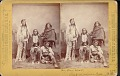 "View ""Big Bow, Chief of the Kiowa Indians, and party"" digital asset number 0"