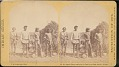 """View """"Apache braves ready for the trail, near Camp Apache, Arizona"""" digital asset number 0"""