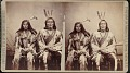 View Minniconjou chiefs in council costume digital asset number 0