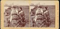 View Chippewa woman with baby in cradleboard digital asset number 0