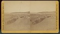"""View """"Fifth cavalry leaving Custer City"""" digital asset number 1"""