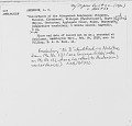 View MS 123 Concordance of the Athapascan languages, with an appendix digital asset: Concordance of the Athapascan languages; Chipwyan, Tacully, Klaskani, Willopah [Kwalhioqua ?], Upper Umpqua, Tootooten, Applegate Creek, Hopah, Haynarger
