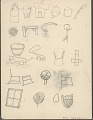 View James Black Bull drawing of various objects digital asset: James Black Bull drawing of various objects