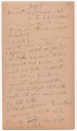 View MS 2797 Menominee linguistic notes and texts collected by Truman Michelson digital asset number 9