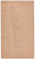 View MS 2797 Menominee linguistic notes and texts collected by Truman Michelson digital asset number 3