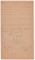 View MS 2797 Menominee linguistic notes and texts collected by Truman Michelson digital asset number 1
