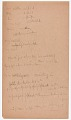View MS 2797 Menominee linguistic notes and texts collected by Truman Michelson digital asset number 8