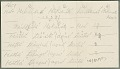 View MS 3965 James Mooney notes on Cherokee clans and social organization digital asset: Miscellaneous notes on clans; social organization (2 pages) sheet from Powellʹs Introduction Schedules