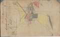 View Anonymous Lakota drawing of women with parasol riding a horse digital asset: Anonymous Lakota drawing of women with parasol riding a horse