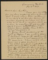 View Letter from Joseph W. Cook October 8, 1887 digital asset number 0