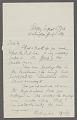 View General correspondence ca. 1870-1895 digital asset number 0