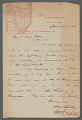 View General correspondence ca. 1870-1895 digital asset number 2