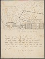 View John Whirlwind Horse drawing of and essay about the student's home digital asset number 1