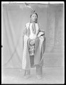 View Front view of Indian man. Oklahoma 1904 digital asset number 0