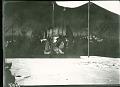 View Skidi Pawnee Indian Ceremony, Pawnee Indians, celebration of Pawnees, Pawnees perform under tent, Skidi. Star Bundle ceremony 1887 digital asset number 1
