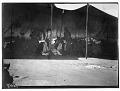 View Skidi Pawnee Indian Ceremony, Pawnee Indians, celebration of Pawnees, Pawnees perform under tent, Skidi. Star Bundle ceremony 1887 digital asset number 0