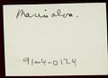 View Adpoted daughter of Manoel da Silva, chief drummer at Gantois, 1938 December digital asset number 3
