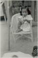 View Adpoted daughter of Manoel da Silva, chief drummer at Gantois, 1938 December digital asset number 5
