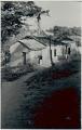 View [Manoel in front of fetish house of Omolu (Obaluaiê) by Gantois temple], 1938 September digital asset number 0