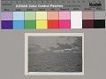 View [Shrimp boats on horizon of Bayou at dawn], 1943 August 4 digital asset number 1