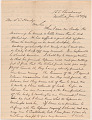 View Letter to L.C. Handy from William M. Riley digital asset number 0