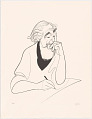 View Al Hirschfeld Self-portrait digital asset number 0