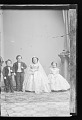 View Strattons, G.W.M. Nutt and Minnie Warren (wedding party) digital asset number 0