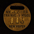 View Trainmen's House Owney tag digital asset number 0