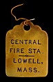 View Central Fire Station Owney tag digital asset number 0