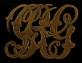 View Owney tag with entwined letters digital asset number 0
