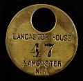 View Lancaster House Owney tag digital asset number 0