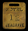 View Hotel Seagrave Owney tag digital asset number 0