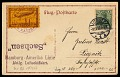 View Sachsen 1913 Liegnitz-Dresden Flight postal card digital asset number 0