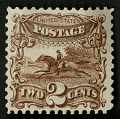 View 2c Post Rider and Horse re-issue single digital asset number 0